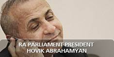 RA Prime minister Hovik Abrahamyan