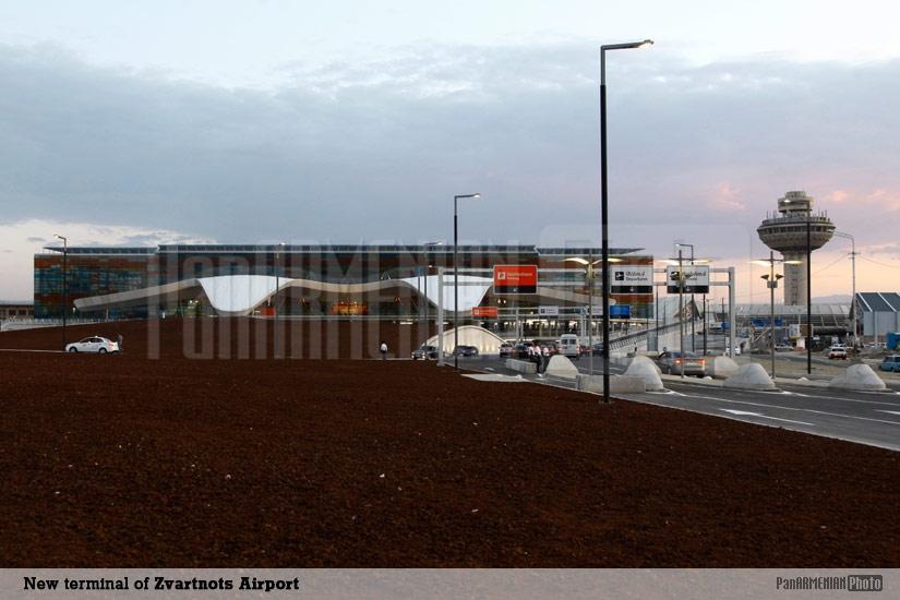 Zvartnots International Airport's New Terminal