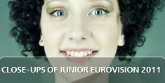 Close-ups of Junior Eurovision 2011