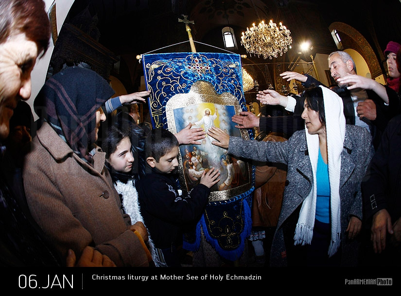 Christmas liturgy at Mother See of Holy Etchmiadzin