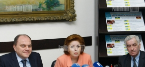 Press conference dedicated to days of Ukraine culture in Armenia
