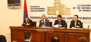 Press conference concerning EU's cooperation with Eastern partners
