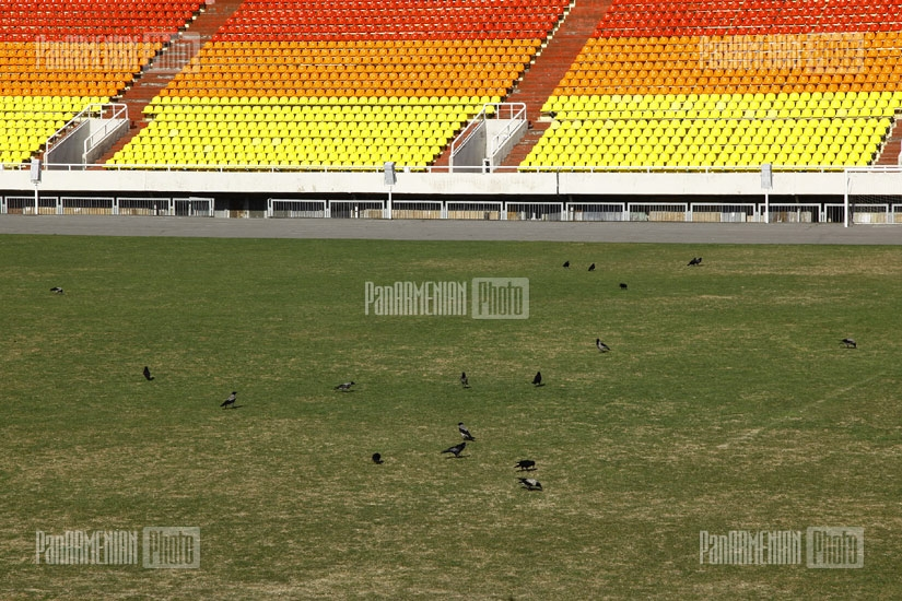 Renovation of Hrazdan stadium
