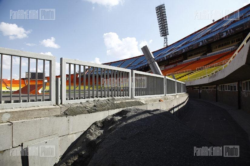 Renovation of Hrazdan stadium