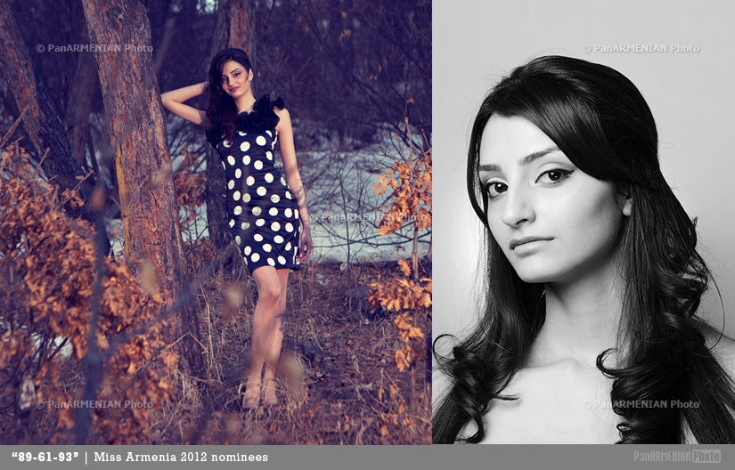 Tatyevik Samsonyan Miss Armenia 2012 - Contestant