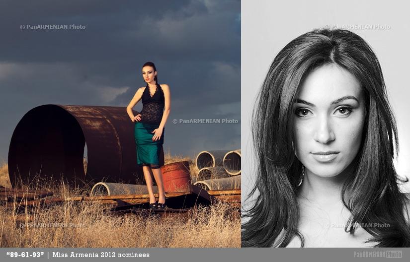 Anna Arakelyan Miss Armenia 2012 - Contestant