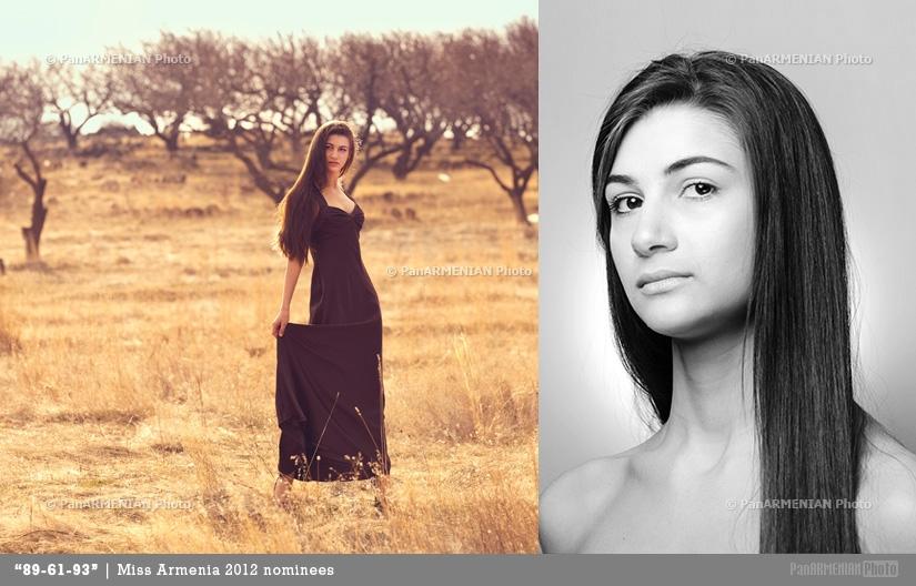 Alisa Sahakyan Miss Armenia 2012 - Contestant