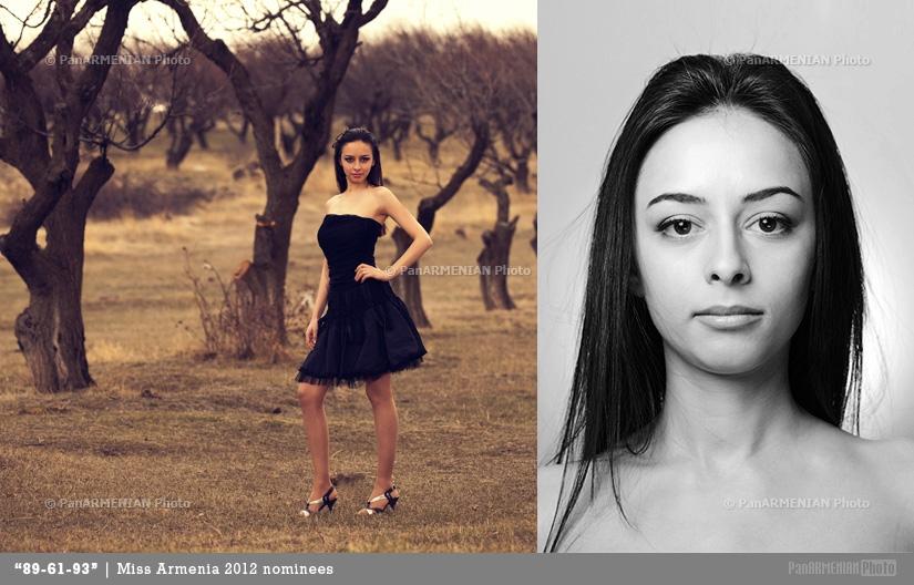 Gayane Abrahamyan Miss Armenia 2012 - Contestant