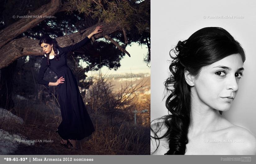 Tatev Mnatsakanyan Miss Armenia 2012 - Contestant