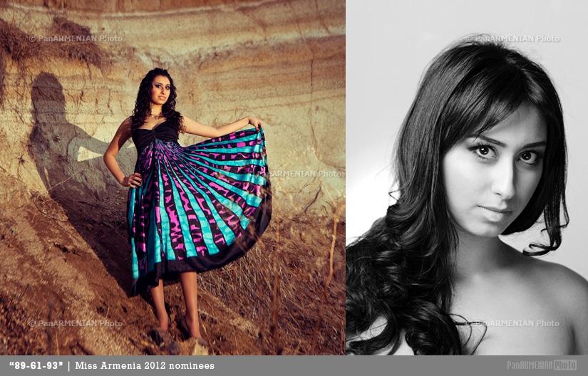 Knarik Sahakyan Miss Armenia 2012 - Contestant
