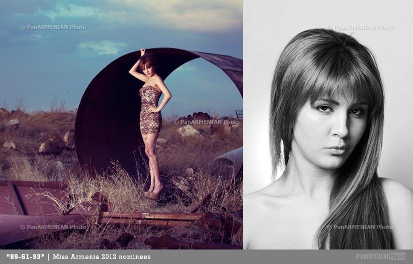 Rruzanna Beglaryan Miss Armenia 2012 - Contestant