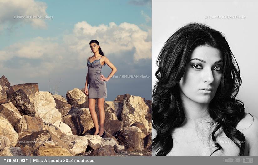 Ani Gazyan Miss Armenia 2012 - Contestant