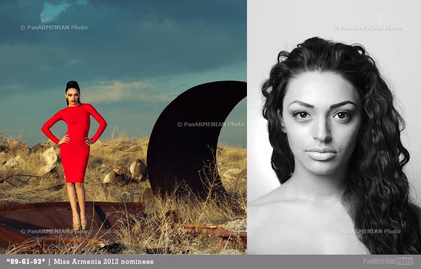 Anita Gabrielyan Miss Armenia 2012 - Contestant