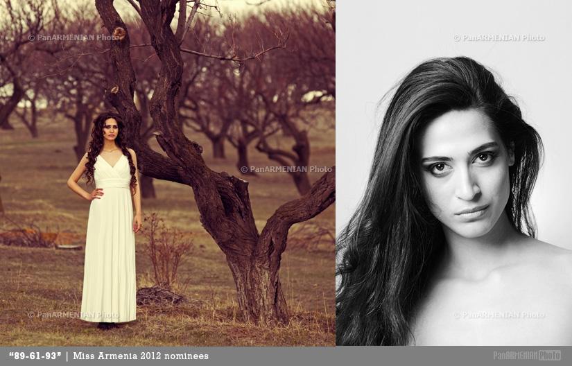 Lilit Martirosyan Miss Armenia 2012 - Contestant