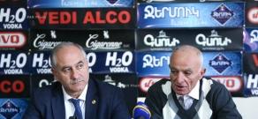 Press conference of Lyova Khachatryan (PAP) and Sukias Avetisyan (RPA)