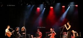 Vishup Ensemble: Rehearsal and concert in Hovhannes Tumanyan Puppet Theatre of Yerevan