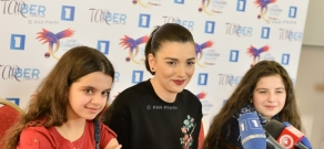 Press conference dedicated to Armenia's participation in Junior Eurovision Song Contest 2016