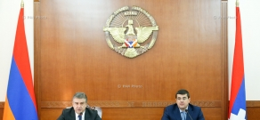 Joint consultation of the governments of Armenia and Artsakh, chaired by Prime Ministers of Armenia and NKR Karen Karapetyan and Araik Harutyunyan
