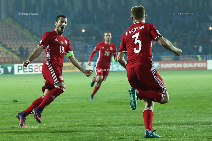 Отборочные Матчи Чемпионата Мира 2018 Черногория Армения