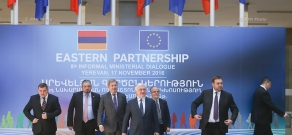 Joint press conference of Foreign Ministers in the framework of 8th Eastern Partnership meeting in Yerevan