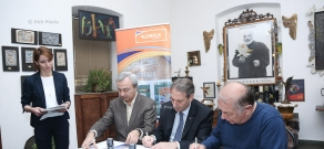 Two postage stamps dedicated to the Museums of Armenia:Sergei Paradjanov Museum have been cancelled and put into circulation