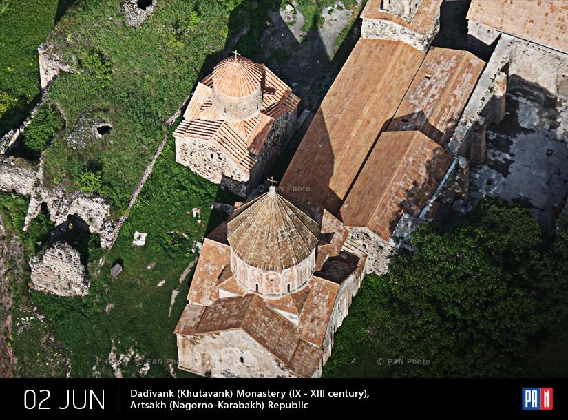 Դադիվանքը (Խութավանք) վանական համալիրը ( IX - XIII դարեր), Արցախ (Լեռնային Ղարաբաղ)