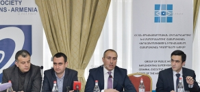 Presentation of Report by Group of Public Observers Conducting Public Monitoring of Penitentiary Institutions and Bodies of Armenia's Ministry of Justice
