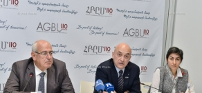 Press conference dedicated  to the launch of AGBU110 celebration week