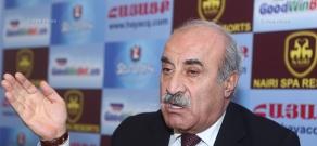 Press conference of Armenian Christian Democratic Party President Khosrov Harutyunyan