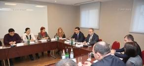 Пленарное заседание экспертного совета  по предупреждению пыток при омбудсмене Армении