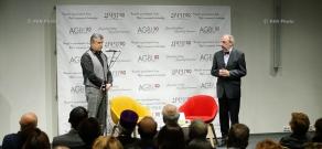 Обсуждение на тему «Преобразовать Армению и вовлечь диаспору – единством и совместной готовностью» при участии премьер-министра Армении Карена Карапетяна