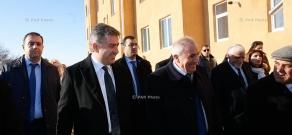 Armenian PM Karen Karapetyan's working visit to Shirak Province