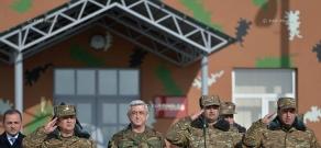 Working visit of president Serzh Sargsyan to Artsakh (Nagorno -Karabakh) Republic