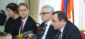 The European Union's 'Water Initiative +'  program is launched in Armenia