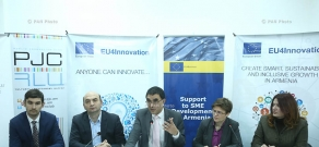 Joint press conference by the program 'Small and medium- sized enterprises (SMEs) in Armenia' and Enterprise Incubator Foundation (EIF)