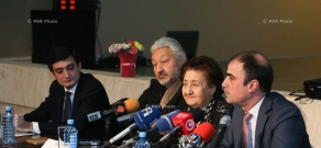 Press conference on Stas Namin's creative days in Armenia