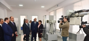Re-opening ceremony of the Karlen Esayan out-patient clinic in Yerevan and opening of the Ararat Resort hotel compound in Tsaghkadzor