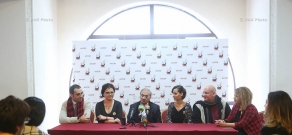 Press conference, dedicated to the opening of Ashot Tigranyan Cultural Musical Foundation and first performance by United American and Armenian Chamber Orchestra