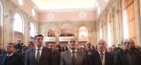 The second (20th) session of the Armenian National Congress