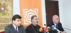 Press conference on the Membership of Armenia's provincial schools to the program 'Ararat Baccalaureate'