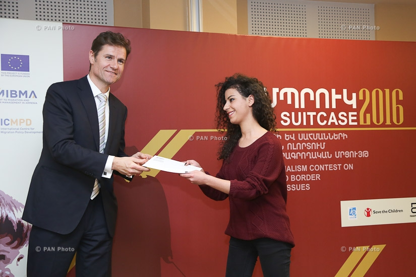 Award giving ceremony of «Suitcase 2016» journalism contest