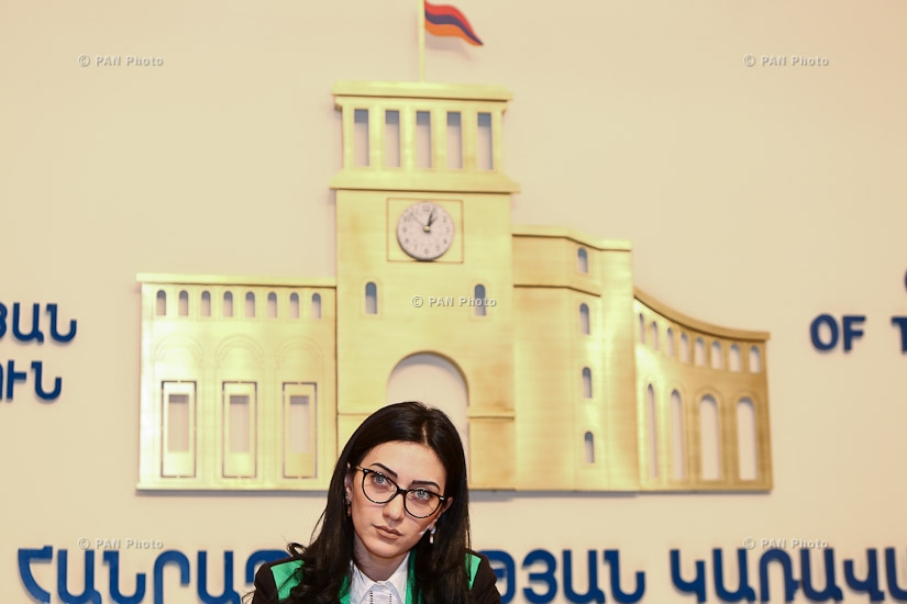 Year-end press conference of Armenian Minister of Justice Arpine Hovhannisyan