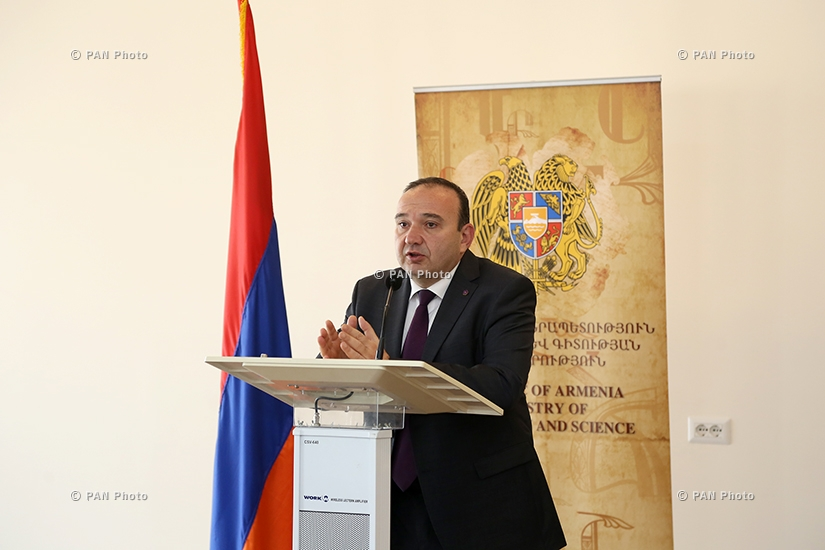 Year-end press conference of Armenian Minister of Education and Science Levon Mkrtchyan
