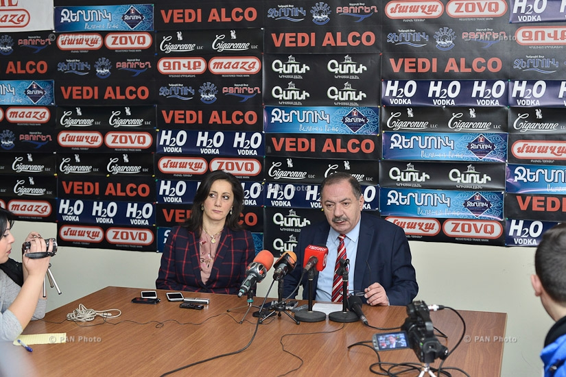 Press conference of ARF-D Supreme Body's member Aghvan Vardanyan