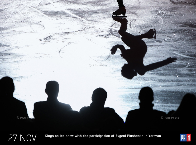 Kings on Ice show with the participation of Evgeni Plushenko in Yerevan