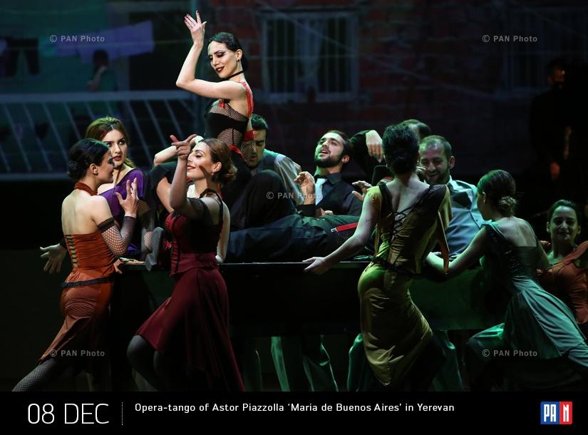Opera-tango of Astor Piazzolla 'Maria de Buenos Aires' in Yerevan