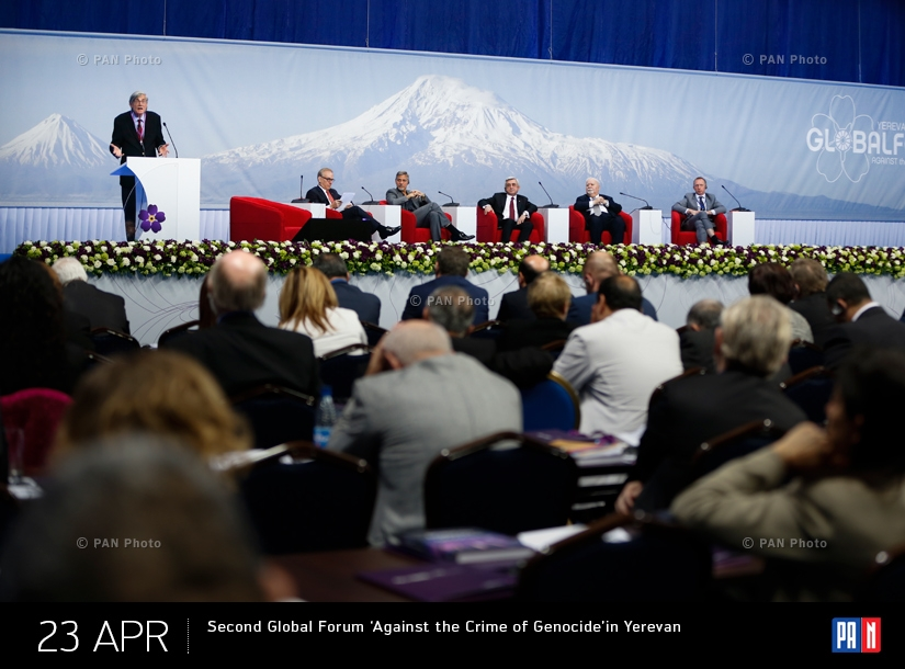 Second Global Forum 'Against the Crime of Genocide' in Yerevan
