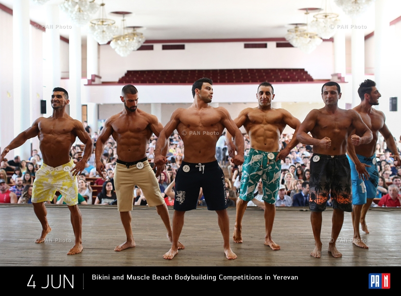Bikini and Muscle Beach Bodybuilding Competitions in Yerevan