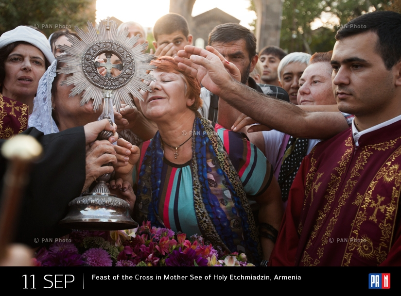 Feast of the Cross in Mother See of Holy Etchmiadzin, Armenia