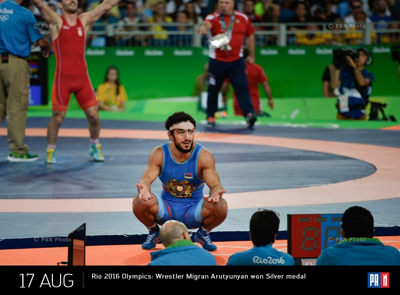 Rio 2016 Olympics: Wrestler Migran Arutyunyan won Silver medal